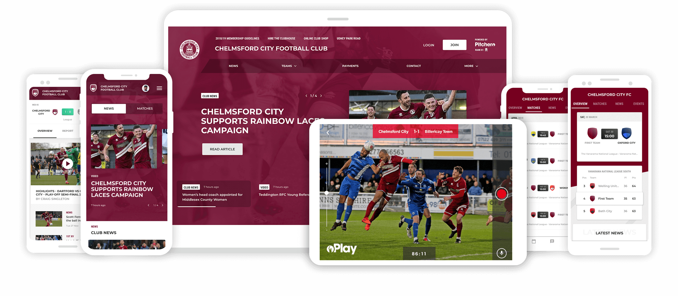 Create & Manage The Ultimate Club Website | Pitchero